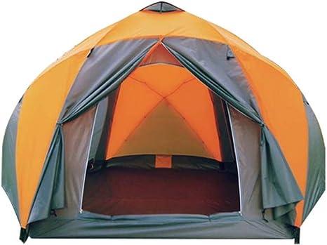 GL- Tienda de yurtas 8-10 Personas Doble Carpa Camping ...