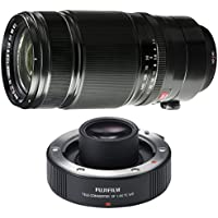 Fujifilm XF 50-140mm F2.8 R LM OIS WR Lens w/ Teleconverter XF 1.4x TC WR Lens