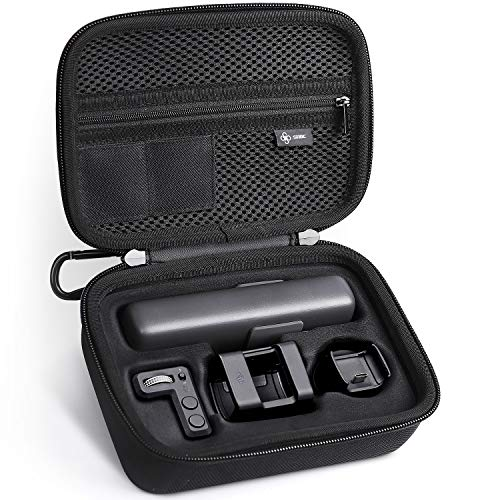SHBC Hard Carrying Case Compatible for DJI OSMO Pocket Accessories Protective Travel Bag for Expansion Kit Controller Wheel Wireless Module Accessory Mount ()