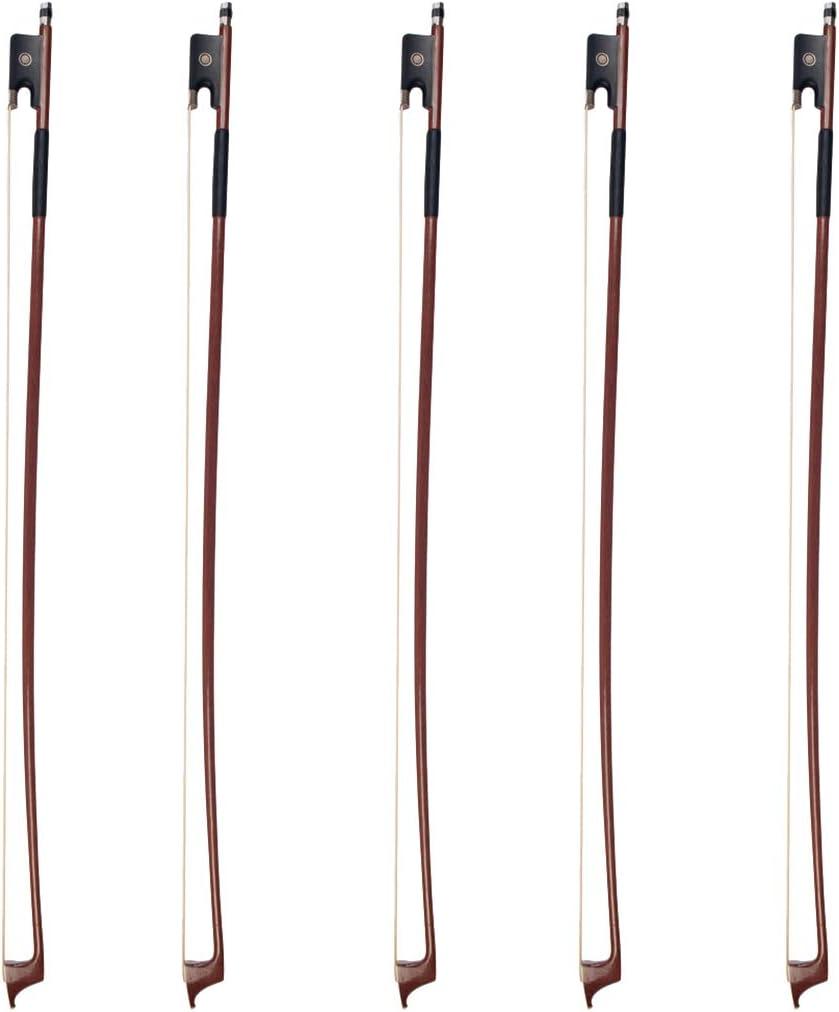 gazechimp Exquisite 5pcs//Pack Brazilwood Bow Great Balance For 3//4 Cello Accessory
