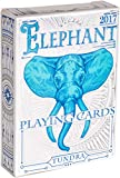 Elephant Playing Cards Tundra Edition – Beautiful Deck of Cards, Hand Illustrated Poker Cards with Cool Custom Faces. Incredible Foil and Intricate Detail