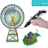 3D Pen DEWANG 3D Printing Pen Draw Doodle Arts&Crafts Unleash Children's Creativity, Develop Spatial Thinking Bonus 20 Meters Multi-Color PLA Filament Kids Hobby Birthday Holiday Christmas Gift