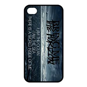 Danny Store 2015 New Arrival Protective Rubber Cover Case for iPhone 4,iPhone 4s Cases - Bring Me The Horizon