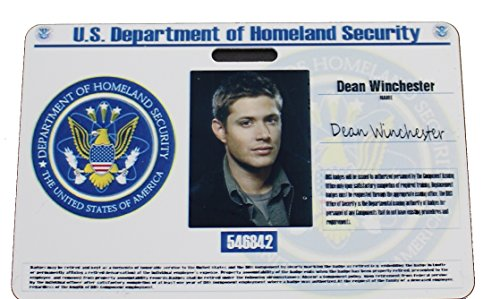 CIA Supernatural Dean ID -