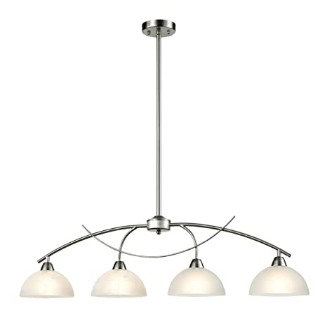 Dazhuan Contemporary Alabaster Frosted Glass Pendant Light Kitchen ...