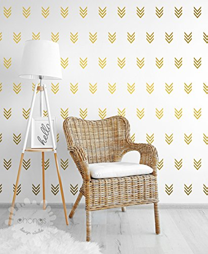 Arrow Wall Decal / Triple Arrow Wall Decals / Arrow Sticker / Geometric Wall Decal