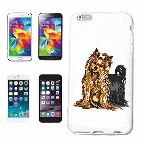 caja del teléfono iPhone 7 Terrier de York cría de perros CUIDADO entrenamiento de la casa PERROS PERRERA DE CRIADORES DE PERRITO Caso duro de la cubierta Teléfono Cubiertas cubierta para el Apple i