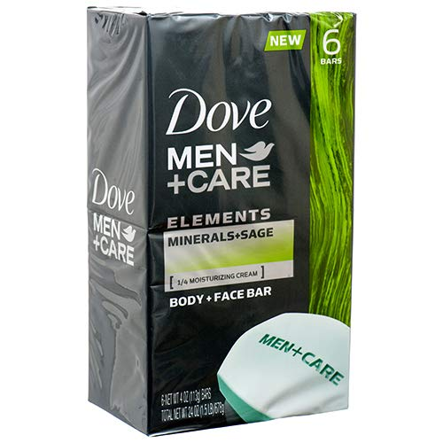 E MEN+CARE BODY & FACE MINERALS+SAGE 4 OZ ()