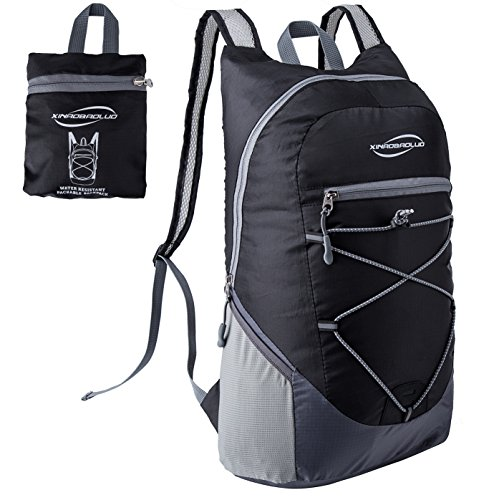 Dh Backpack (DH-S 20L Lightweight Durable Packable Outdoor Travel Hiking Backpack Casual?Daypack (Black))