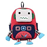 Creative Cartoon Shoulder Small Bag Backpack Bag For 1-6 Years Old Kids, Red