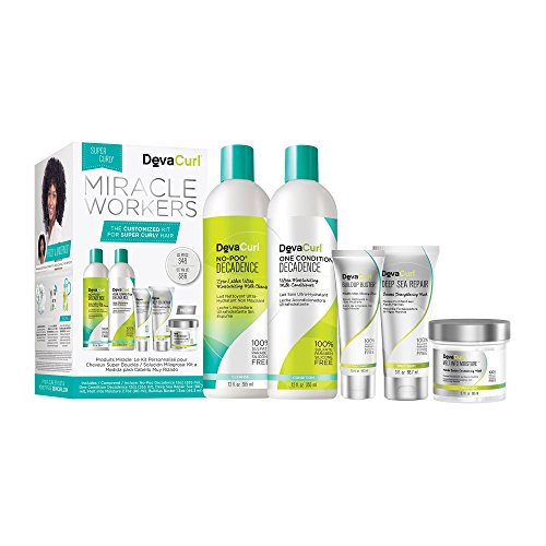 Price comparison product image DevaCurl Miracle Workers: A Customized Kit for Super Curly Hair