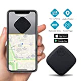 Key Finder Smart Tracker - Key Finder Locator for Phone Wallet Backpack Luggage - Bluetooth GPS Tracker Device with App for iPhone Android - Replaceable Battery Anti-Lost Item Finder