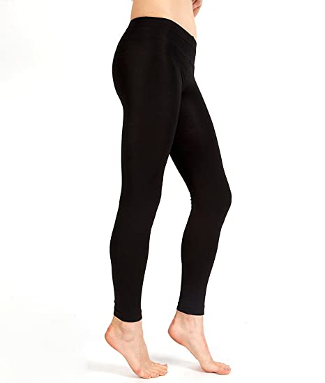 2953007de Plush Womens Fleece-Lined Footless Tights at Amazon Women s Clothing ...