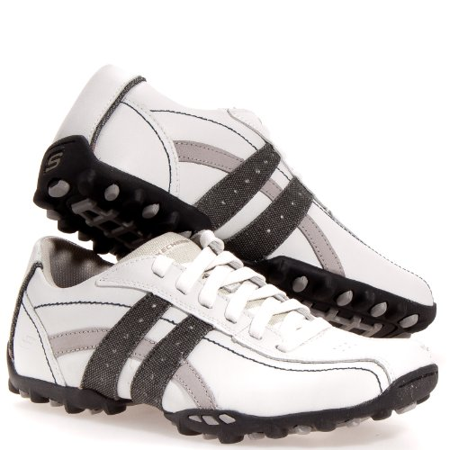 0b995d82b3ea Skechers Fusion Mens 63384 Burk Oxford Sneaker