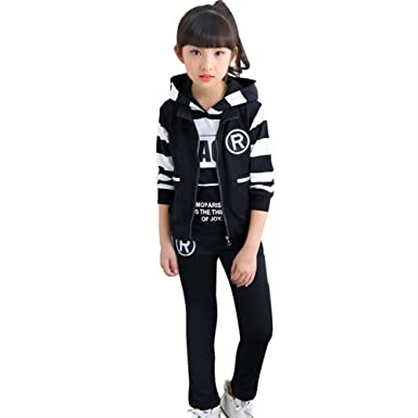 CH&Q - Pantalones de chándal para niños y niñas, Pantalones de ...
