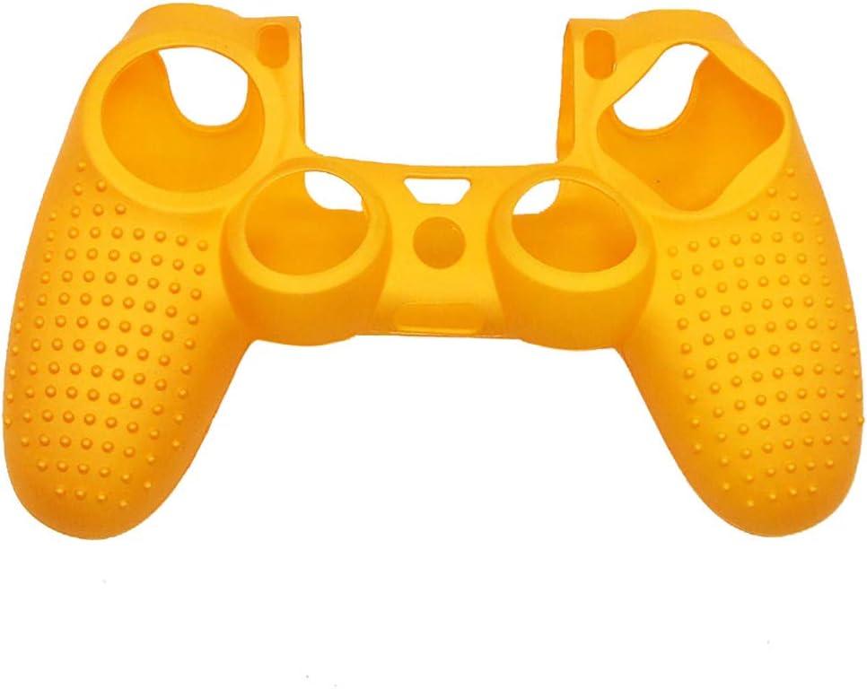 Tensay Case Cover Funda de silicona con agarre para Sony Playstation PS4 Controlador Funda protectora antideslizante con cubierta de gel de aceite: Amazon.es: Bricolaje y herramientas