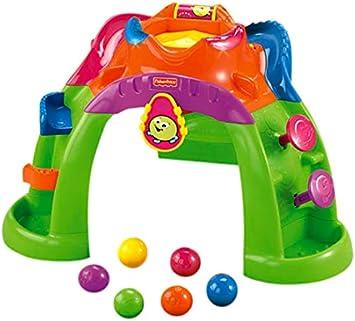 Fisher-Price - Volcan Bolitas Saltarinas, Desarrollo de Habilidades motoras (Mattel W9859): Amazon.es: Juguetes y juegos