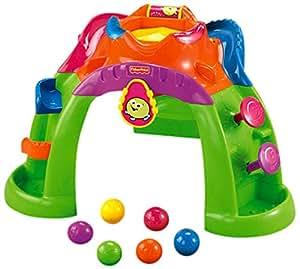 Amazon Com Fisher Price Stand Up Ballcano Toys Amp Games