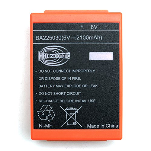 IORMAN 6V 2100mAh HBC Remote Control Crane Driving FUB 05AA Rechargeable Battery BA225030 by IORMAN
