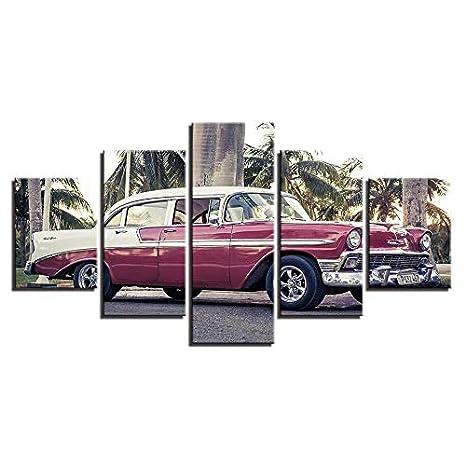 Classic Jaguar 420 Canvas Art Cheap Wall Print Home Interior