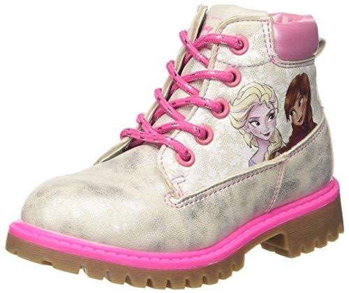 Disney Mädchen S18458h/Az Stiefel Rosa (Argento)