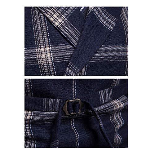 Gilet Plaid Et Gentleman Boutonnage Costume Robe En Double Britannique Xdljl Blackgrid Homme Printemps À Automne Affaires Casual Grand t8aUnPAxnq