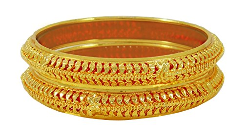 Banithani Ethnic Indian 18K Goldplated Bangle Traditional Bracelets Wedding Jewelry