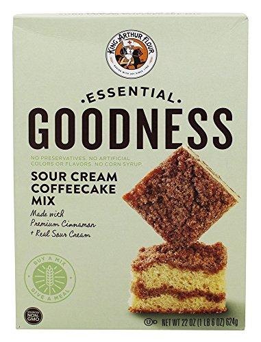 King Arthur Mix Coffeecake Sour Cream, 22 oz