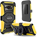 S6 Active Case, Galaxy S6 Active Case, Cellularvilla Dual Layer [New Generation] [Heavy]