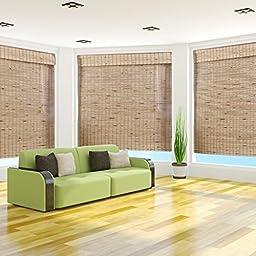 Mandelhi Bamboo Roman Shade, 36x54