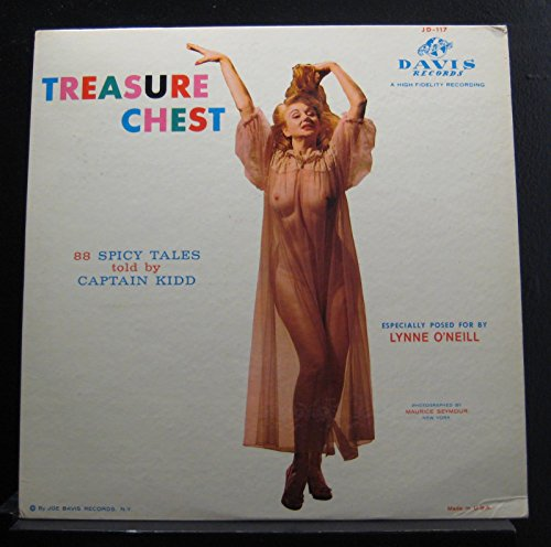 Captain Kidd - Treasure Chest: 88 Spicy Tales Told By Captain Kidd - Lp Vinyl Record