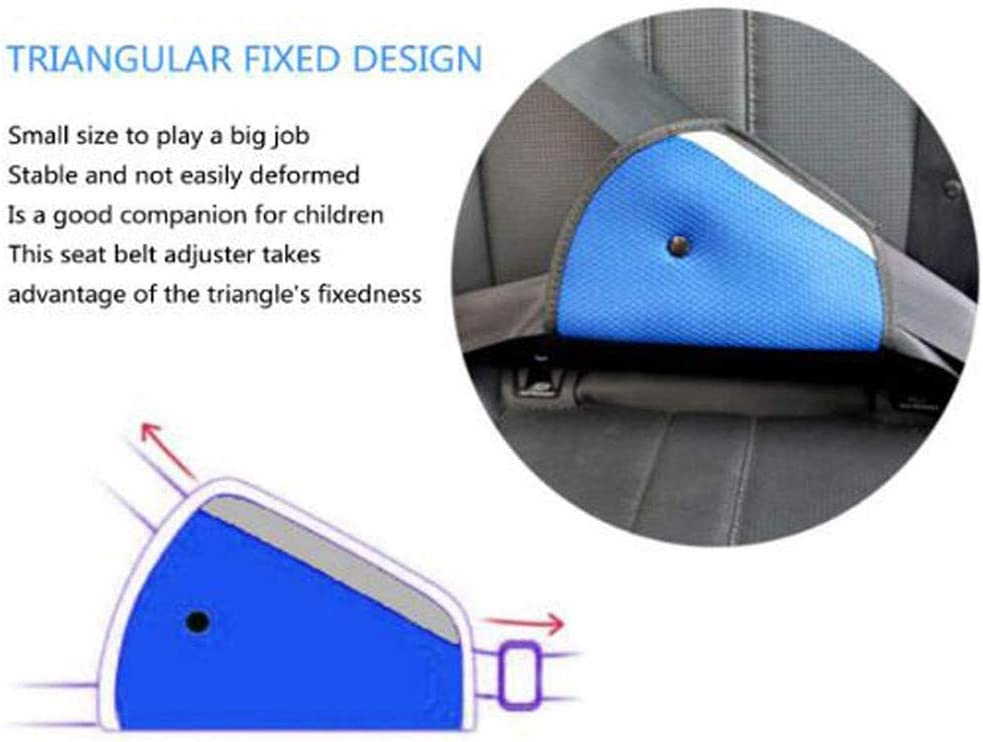 RICISUNG Child Kids Toddler Car Auto Seat Belt Shoulder Pad Cover Head Neck Support