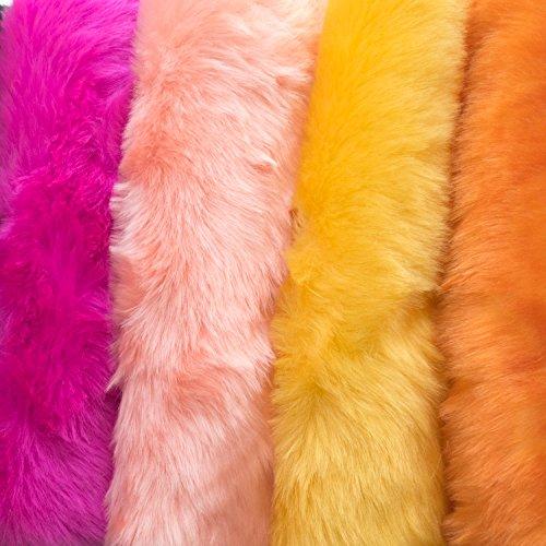 Faux Fake Fur Marmot Short Hair 60 Inch Fabric By The Yard