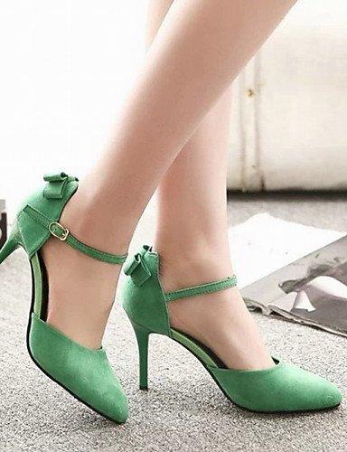 us6 talones boda eu37 amp; de green zapatos amp; carrera la la ZQ en mujeres partido vestido de cn35 eu36 5 uk3 5 pie uk4 punta las us5 red dedo 5 del 7 eu37 oficina de 5 green noche us6 7 de cn37 del tac¨®n 5 5 tF7CCxBwq