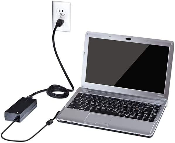 Targus 90W AC Universal Laptop and Mobile Device Charger with USB Port, Includes 12 Power Tips Compatible with Major Brands: Acer, ASUS, HP, Compaq, ...