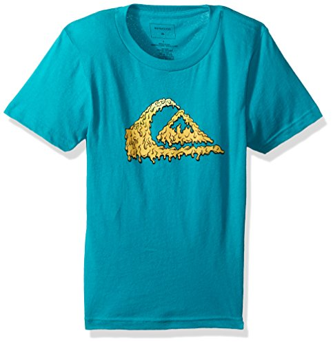 (Quiksilver Boys' Little Gloss Varnish Youth TEE, Tropic Green, 6)