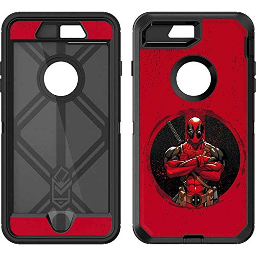 brand new 96752 d7b8c Skinit Marvel Deadpool OtterBox Defender iPhone 7 Plus Skin - Merc With A  Mouth Design - Ultra Thin, Lightweight Vinyl Decal Protection