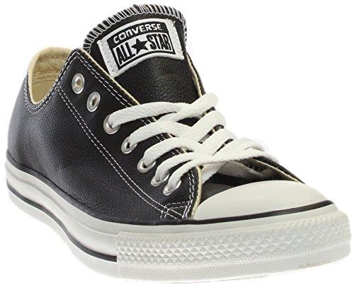 e1cb0ee671c Galleon - Converse Unisex Chuck Taylor All Star Leather Ox Fashion Sneaker  - Black - Mens - 4.5