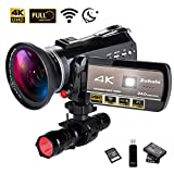 Best Video Camera 4ks - 4K Wifi Full Spectrum Camcorders, Ultra HD Infrared Review