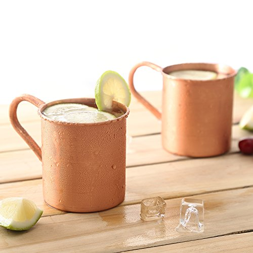 Magisor 100% Pure Copper Moscow Mule Mug (Set Of 2)(14.5 OZ) by Magisor (Image #1)