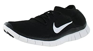 Nike Men's Free Flyknit+ Black/White/Anthracite Running Shoe 10.5 Men US