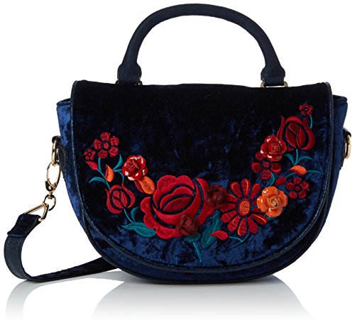 Blue main portés Bleu Blanka Bag Sacs Casa Irregular Choice vwCv8