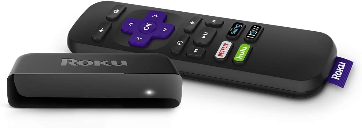 Roku Premiere | HD/4K/HDR Streaming Media Player with Simple Remote and Premium HDMI Cable (Renewed), Black: Electronics