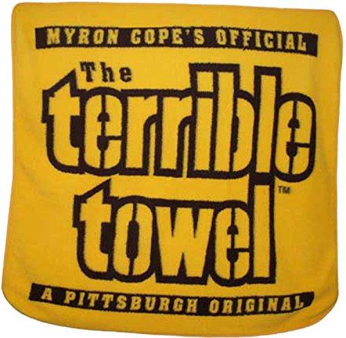 The Terrible Towel Fleece Throw Blanket 50x60