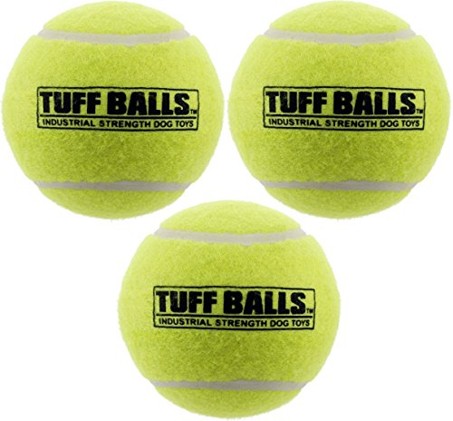 Petsport Large Tuff Ball 4-Inch (Pack of 3)