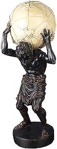 GANFANREN Greek Mythology, Titan, Celestial god Atlas Sculpture Character Display Ornament Decoration