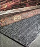 4'x6' Teebaud Non-skid Reversible Rug Pad for Rugs on Carpet and Hard Floor Surfaces