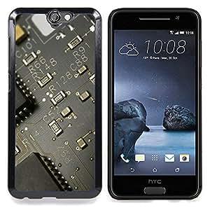 - PCB Transistor Board - - Cubierta del caso de impacto con el patr??n Art Designs FOR HTC ONE A9 Queen Pattern