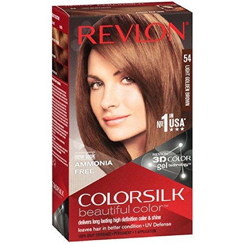 Revlon Colorsilk Beautiful Color Permanent Hair Color, 54 Li