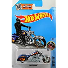 Mattel Hot Wheels 2016 Treasure Hunt Hw Moto 3/5 - Bad Bagger